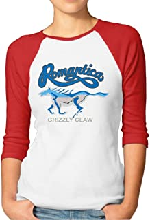 Shenigon Women's Animal Printing 3/4 Sleeve Baseball Tee Raglan T-Shirts Black