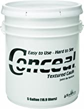 product image for Sashco 46075 Conceal Acrylic Latex Textured Caulk, 5-Gallon Pail, Warm Honey