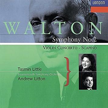 Walton: Violin Concerto; Symphony No. 2; Scapino
