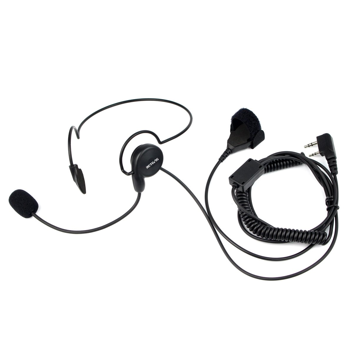 Retevis Overhead Headset Talkies Earpiece