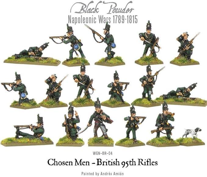 Warlord games Napoleonic British 95th rifles 7