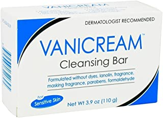 Vanicream Cleansing Bar for Sensitive Skin 3.90 oz (Pack of 11)