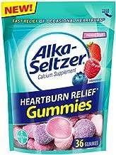 Alka-Seltzer Heartburn Relief, Mixed Fruit, 36 Gummies (Pack of 2)