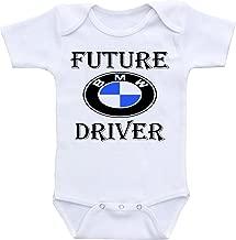 Dazzle Labs Future BMW Driver Funny Baby Onesie Bodysuit