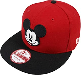New Era Mickey Mouse FA Red Snapback Cap 9fifty Special Limited Edition Disney