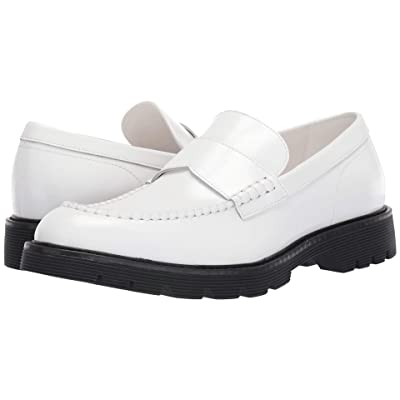 Calvin Klein Fletcher (White Brush-Off Box Leather) Men