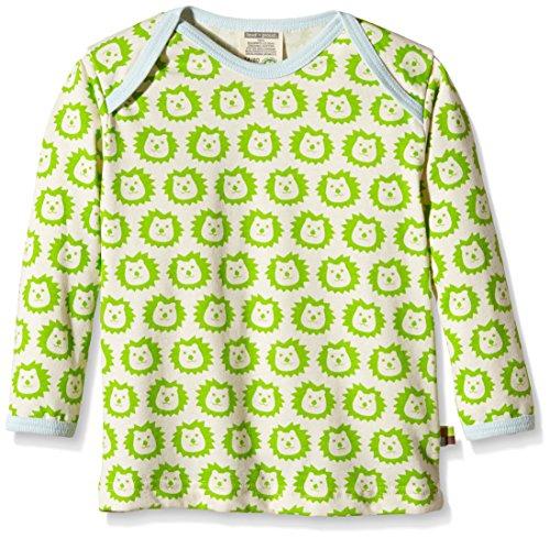 Loud and Proud loud + proud Baby-Unisex 275 Sweatshirt, Grün (Lime li), 116 (Herstellergröße: 110/116)