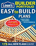 Lowe's Builder Portfolio: Easy-to-Build Plans (Home Plans)