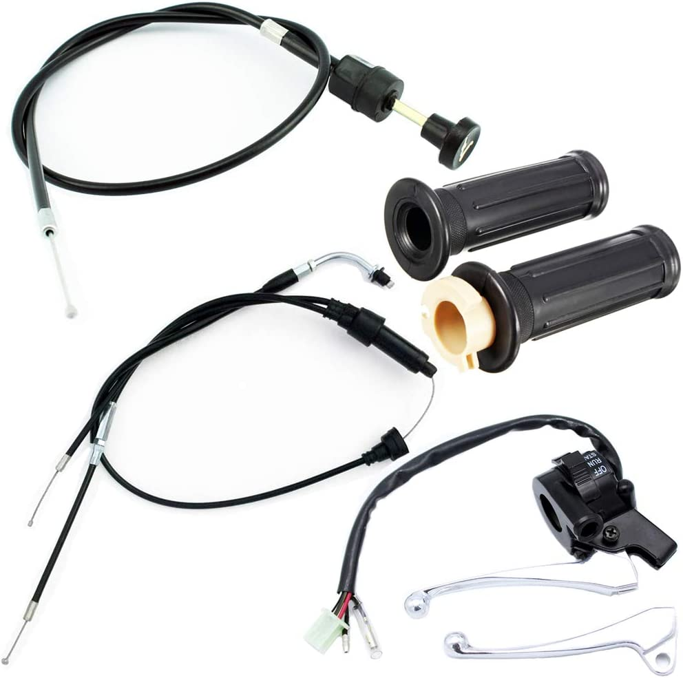 QAZAKY Throttle Housing Start Weekly Branded goods update Switch Handlebar Accel Cable Choke