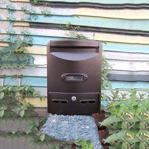 TLMY brievenbus regendicht waterdicht outdoor mailbox algemeen manager Suggestion box buiten Europese muur opknoping boodschap doos met slot mailbox