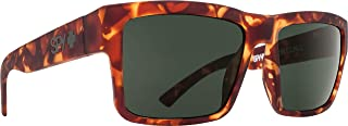Spy Optic Montana Square Sunglasses, Soft Matte Camo Tort/Happy Gray/Green, 1.5 mm