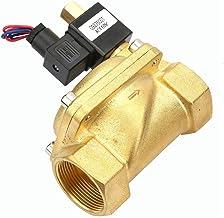 Gemakkelijk te installeren elektrische magneetventiel, G1-1 koper DC12V, DC24V, AC110V, AC220V -5 tot 80 graden voor water...