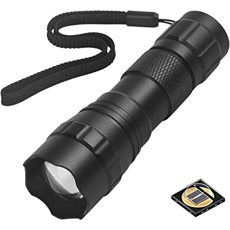 Gatzetec UF WF 501 B IR 940nm LED Flashlight 4 Chip Infrared # UltraFire 2020