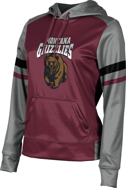 ProSphere University of Montana Girls' Pullover Hoodie, School Spirit Sweatshirt (Old School)