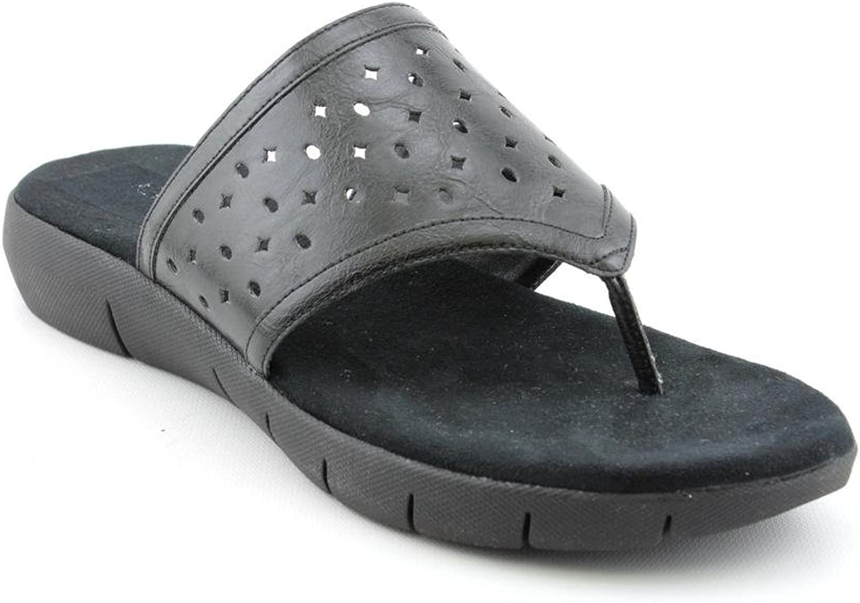 Aerosoles Women's Wip Hop Sandal (6, Black)