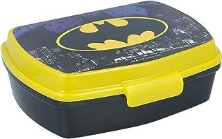 Batman sandwichbox voor kinderen gedecoreerd - lunchbox voor kinderen | lunchbox voor lunch en school