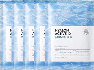 Nature Republic Hyalon Active 10 Moisture Mask Sheet (5 PCS)
