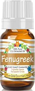 Pure Gold Fenugreek Essential Oil, 100% Natural & Undiluted, 10ml