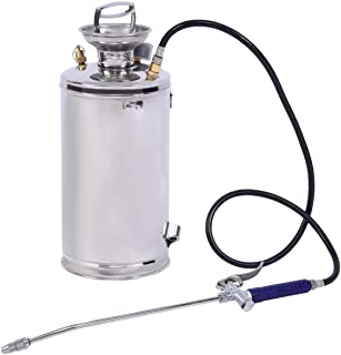 FLYTOP Stainless Steel Sprayer 2Gal Law and Garden Series for Extended Life and Durability