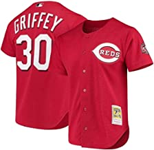 Mitchell & Ness Ken Griffey Jr. Cincinnati Reds Men's Cooperstown Batting Practice Jersey