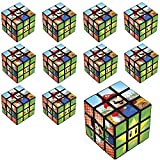Party City Super Mario Puzzle Cubes 24 Count, Birthday Party Favors for Kids, Plastic, 1 1/4' x 1 1/4' x 1/4'