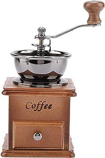 Młynek do kawy/szlifierka ręczna, przenośna drewniana ręczna młynek do kawy do podróży lub kempingu