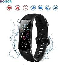 """Honor Band 5 Activity Tracker 0,95"""" Schermo AMOLED a Colori 50M Waterproof Heart Rate Monitor Wristbands Bracelet per Diverse modalità Sportive (Nero)"""