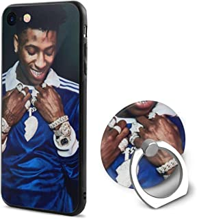 Youngboy Soft Rubber Phone Case with 360° Rotation Ring Stand for iPhone 6/ 6s case