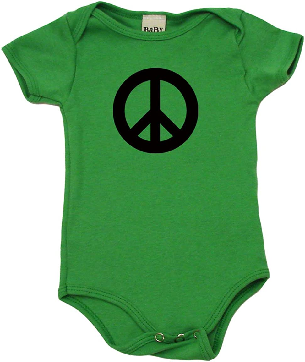 Gypsy Soul Peace Sign Baby Onesie\u00ae Boho Baby Clothes Floral Peace Sign Bohemian Baby Outfit Hippie Baby Bodysuit Baby Shower Gift