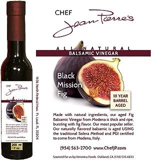 Black Mission Fig Aged 18 Years Italian Balsamic Vinegar 100% All Natural (200ml) (7oz)