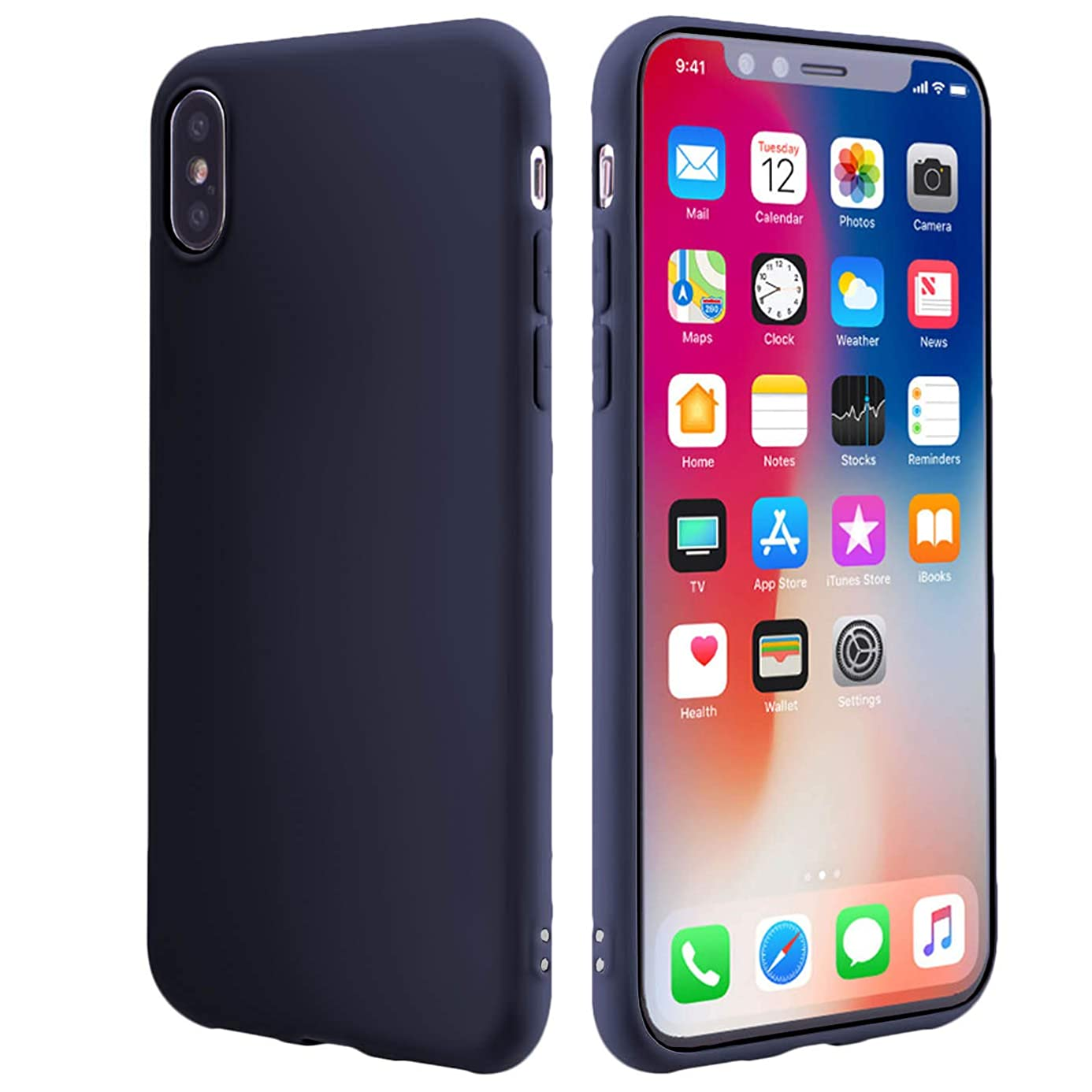 Slim Fit Case Compatible iPhone Xs MAX Case 6.5