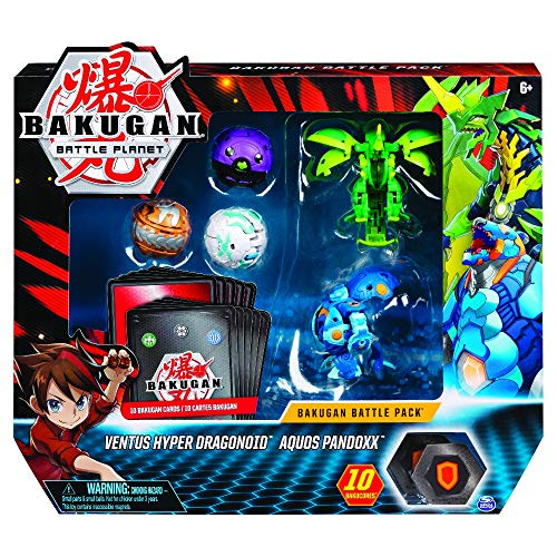 Bakugan 6058572 BTB Battle 5 Pack-11 GML Multicoloured