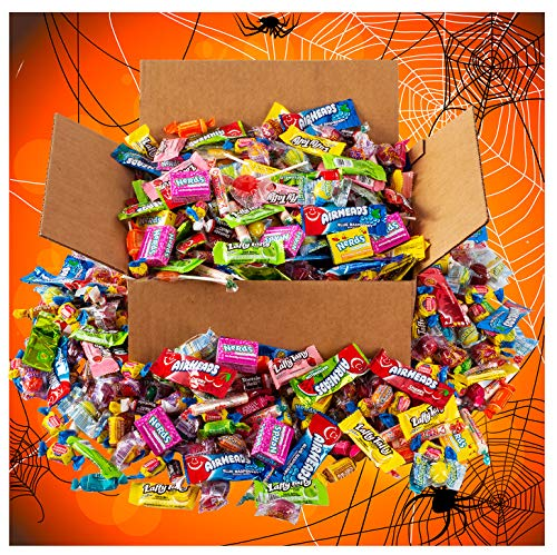 Halloween Candy - Trick or Treat - Bulk Candy - HUGE Candy Assortment Party Mix - 6.5 Pounds - OVER 350 Pieces of Individually Wrapped Candy