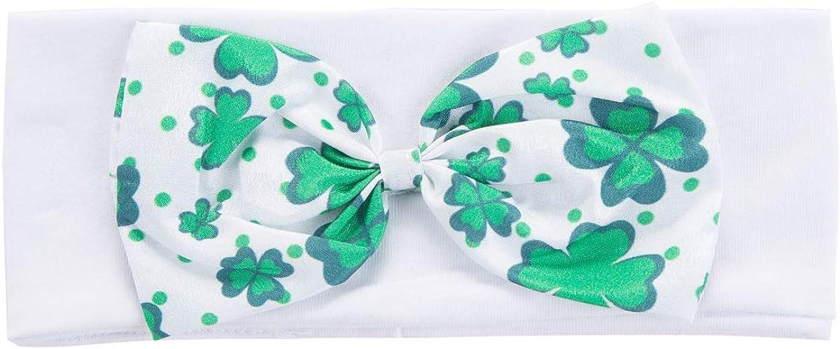Baby Girls Outfit Set My First ST Patricks Day Lucky Clover Bodysuit Tutu Skirt /& Leg Warmers
