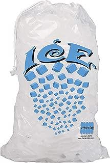 Perfectware 10lb Drawstring Ice Bag 500ct.