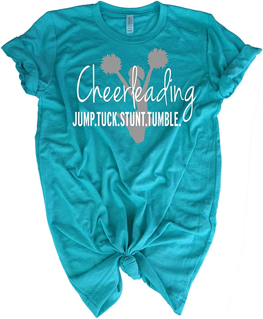 Cheerleading Tee Shirt - Jump Athleti Tuck Stunt All Limited price stores are sold for Tumble