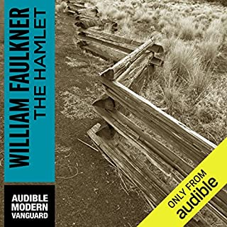 The Hamlet                   By:                                                                                                                                 William Faulkner                               Narrated by:                                                                                                                                 Joe Barrett                      Length: 14 hrs and 51 mins     185 ratings     Overall 4.1