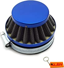 XLJOY Blue 58-60mm Air Filter for ATV Pocket Bike Yamaha Honda Suzuki Kawasaki Motorcycle