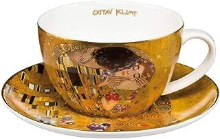 Gustav Klimt The Kiss Fine Bone China Tea Cup and Saucer by Goebel 66532011
