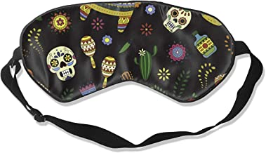 Ruin Cinco De Mayo Celebration in Mexico Fashion Eye Patch Cover Blackout Eye Masks, Puffy Eyes,Dark Circles,Stress,Breathable Blindfold
