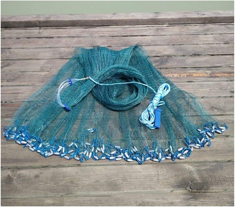 Fliegenfischenzubehr Handwerfnetz, azyklische Hand, einfach zu werfen, Angeln mit Multifilamentschnur, 3,3 m Zinkanhnger (Größe   3.0m Plumb bob)