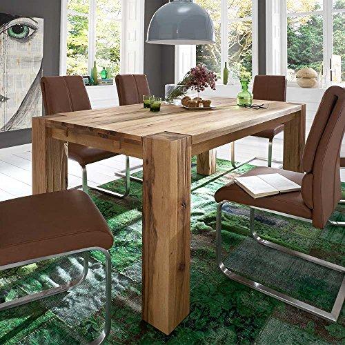 Pharao24 Tisch aus Balkeneiche Ausziehbar Ausführung 2