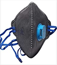 7 Layer Foldable Face Half Mask PM 2.5 Anti Pollution Mask - Color: -Gary (1)