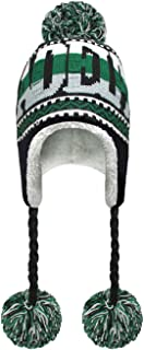 Football Pom Winter Hat with Matching Plush Classic Sports Teams and Cities Ultra Soft Warmth and Outdoor Comfort