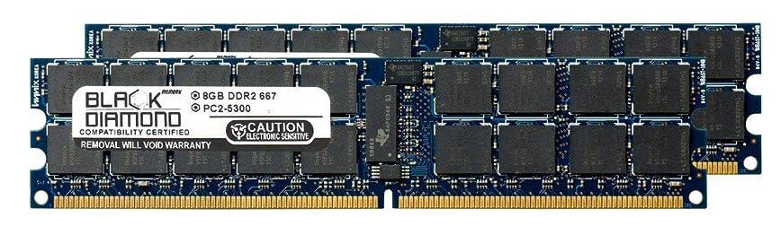 日付見えない考慮16GB 2X8GB Memory RAM for IBM Power 520 9408-M25 Black Diamond Memory Module 240pin PC2-5300 667MHz DDR2 ECC Registered RDIMM Upgrade