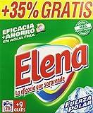 Elena - Detergente lavadora formato polvo, fragancia Fuerza Polar - 35 lavados