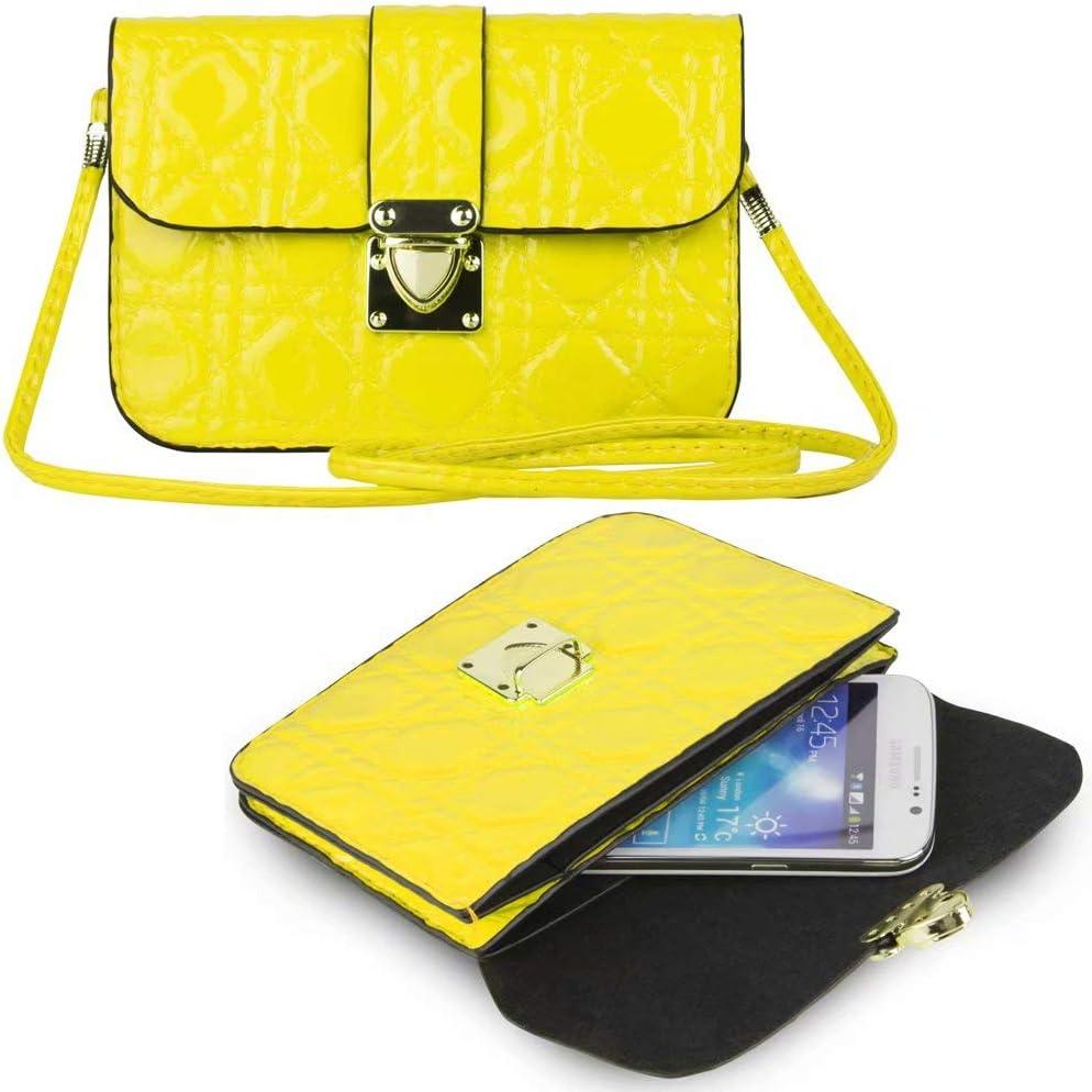 Cross Body PU Leather Cellphone Holster Bag Fit for Motorola Moto E7, Moto E, Moto G Fast, G Pro, G Power, One Vision Plus One Fusion Plus, Edge, Edge Plus, Moto E6s, Moto G8 Power Lite, G8, G8 Power