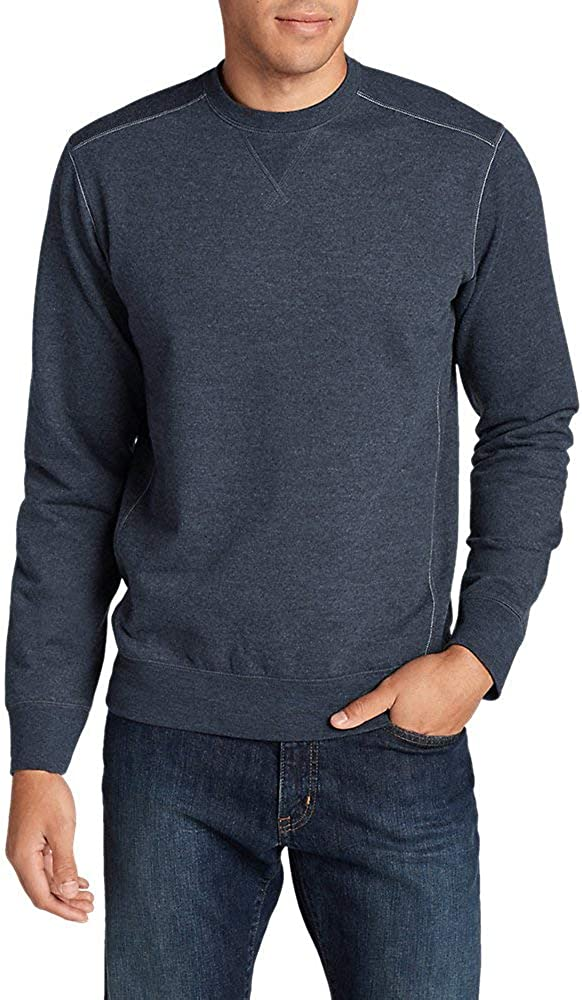 Eddie Bauer Minneapolis Mall Men's Camp Fleece Sweatshirt Special price Crew