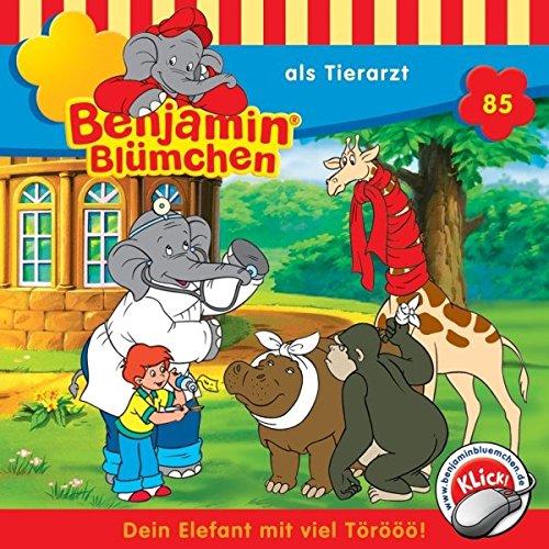 Benjamin als Tierarzt audiobook cover art