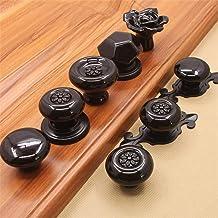 Furniture Handle 8 stuks Mixed kabinet Pull Handvat Keramische Handle Modern lade Een gat handvat for Cupboard kledingkast...